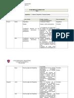 Plan Anual 2014- 6º Historia