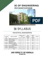 Syllabus S6