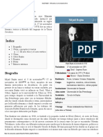 Mijaíl Bajtín - resumen
