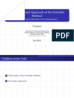 HS 791 2014 2B Scientific Method Philosophy