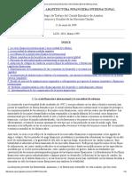 Comite Ejecutivo de Asuntos Economicos y Sociales de Naciones Unidas. (1999). Hcia Una Nueva Arquitectura Financiera Internacional.
