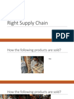 Day 2 - Right Supply Chain