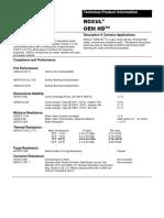 ROXUL OEM HD - Technical Data Sheet