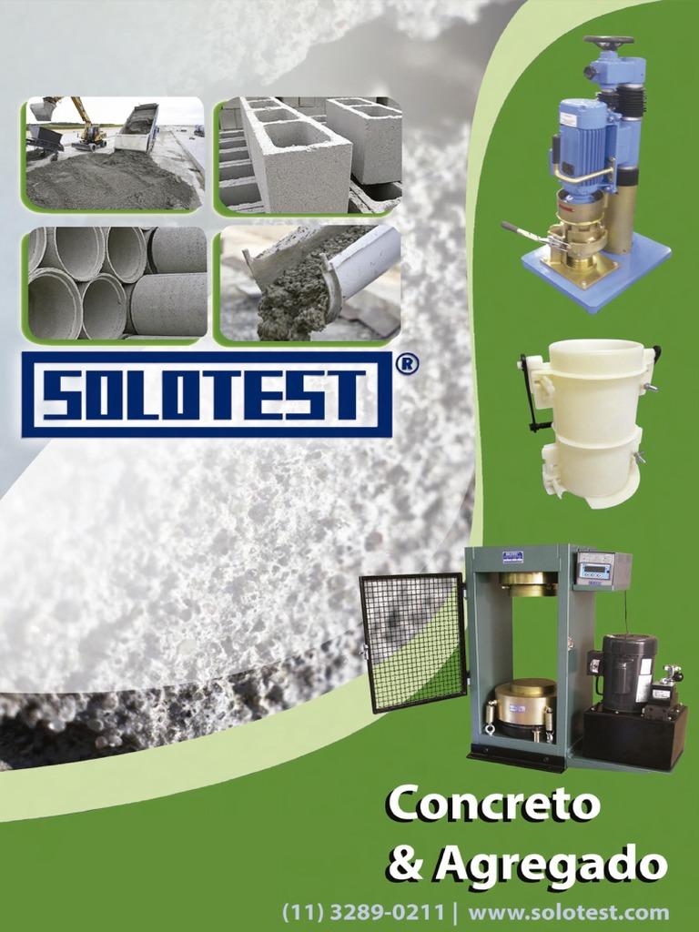 71335f4873e Catalogo SOLOTEST Concreto