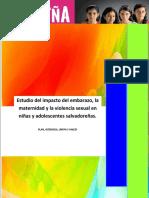 0715Estudio Embarazo Adolescente El Salvador 2014