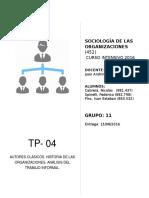 TP 04 - Grupo 11 - Autores Clásicos, Trabajo Informal