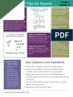 eureka math grade 5 module 4 parent tip sheet