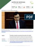 Boletín de noticias KLR 17AGO2016
