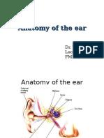 Anatomy of the Ear TMN New