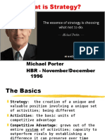 01 Porter - What is Strategy - HBR