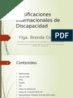 Clasificaciones Internacionales de Discapacidad