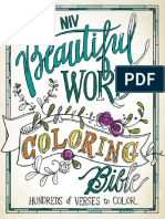 NIV Beautiful Word Bible Sample Pages