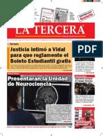 Diario La Tercera 17.08.2016
