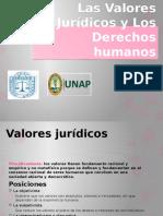 los valores juridicos y los derechos humanos