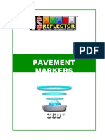 (750788224) USreflector Pavment Markers