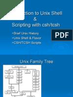 Shell and Unix Programming