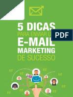 eBook 5 Dicas Para Enviar E-mail Marketing de Sucesso