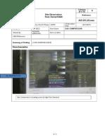 SITE OBSERVATION FOR GAS  COMPRESSOR CHANGE OVER.docx