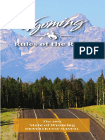 Wyoming 2014 Class C Driver License Manual