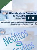 Historia de La Ecografíahistoria