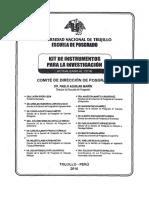 Kit de Investigación