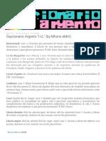 Gaycionario Argento I-LL (by Mhoris EMm)