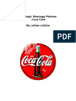 journalism 385 strategic message planner