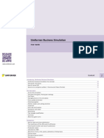 Simformer business simulation UserGuide