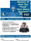 11 Beware of How You Treat Your Music Teachers