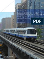 Success Failure Urban Transportation Infrastructure Projects[1]
