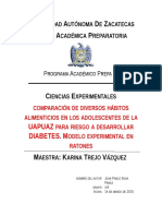 Diabetes Ciencias Experimentales