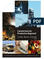 Caracterizacion Productiva Regional La Plata Berisso Ensenada