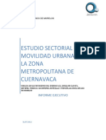 Informe Metropolitano de Movilidad Urbana