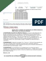 Portaria SEFAZ 005.2014