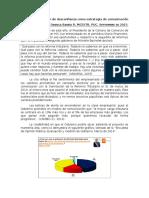 La generación de desconfianza en Chile como estrategia de comunicación