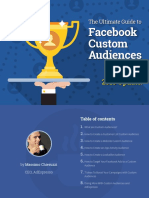 Facebook Ads Custom Audiences Guide