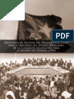 Agenda del Diálogo Nacional para la Reforma Democrática del Estado (COCOPA 1995)