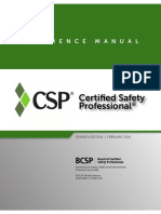 CSP Reference Manual