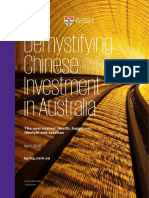 Demystifying Chinese Investment in Australia April 2016