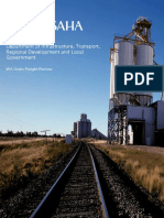 WA Grain Freight Review Report