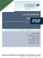 Informe Económico CESO Agosto