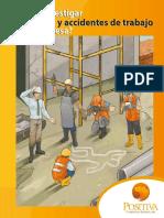 Cartilla Investigacion de Incidentes y Accidentes de Trabajo POSITIVA