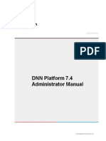 DNN Platform 7 4 2 Administrator Manual