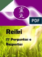 Reiki - 77 Perguntas e Respostas