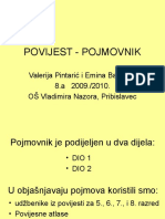 POJMOVNIK-POVIJEST