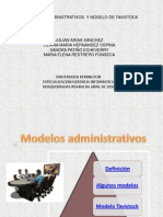 trabajo modelos admon