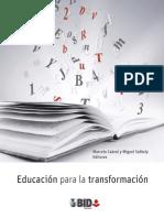 LIBRO Educación Para La Transformación