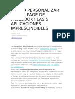 CÓMO PERSONALIZAR TU FAN PAGE DE FACEBOOK.docx