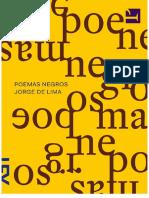 Poemas Negros - Jorge de Lima