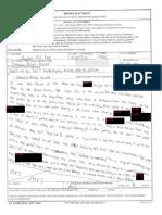 Micah Johnson Statement in U.S. Army Investigation